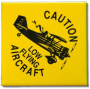 caution low flying magnet